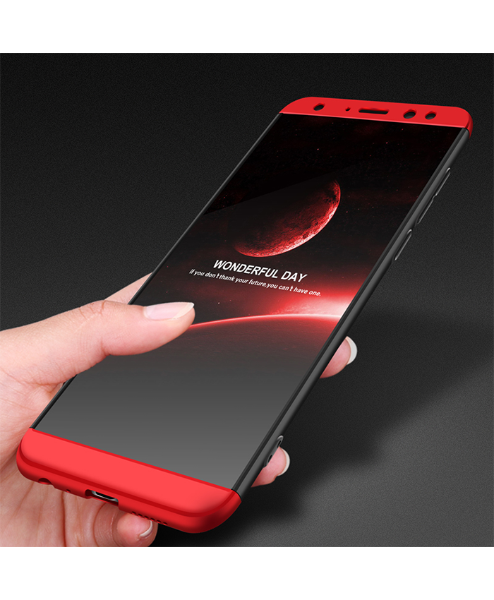 lowest price a8609 17337 Huawei Honor 7X Shockproof 3 in 1 Full Body 360 Protection Case ...