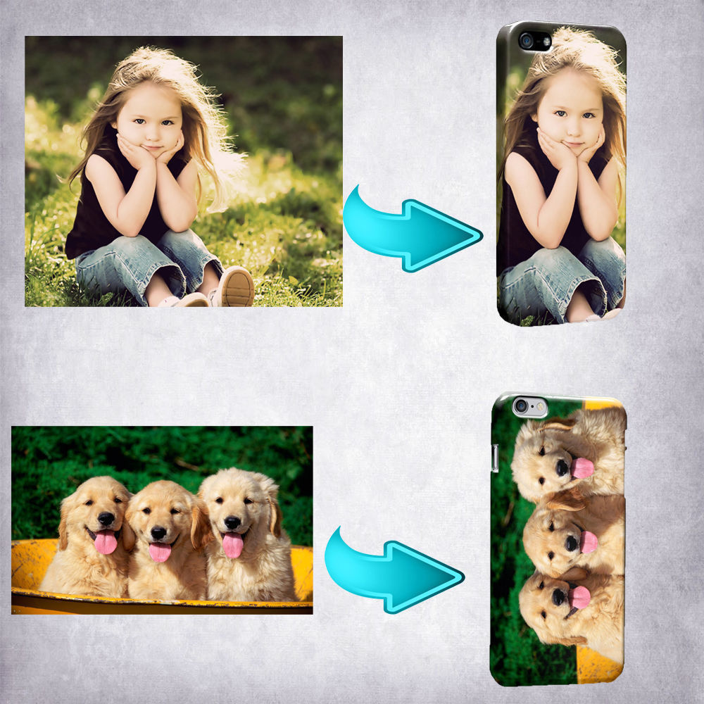 Customized Custom Made Personalized Photo DIY Picture Soft Phone Case Cover