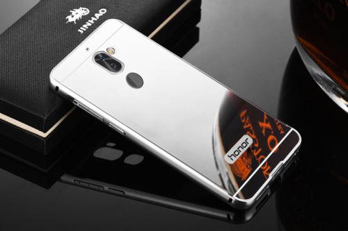 Huawei Honor 6X Metal Bumper Mirror Back Case   Makro