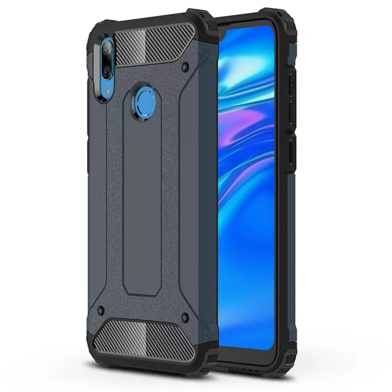 Honor 8C Shockproof Hybrid Rugged Back Cover