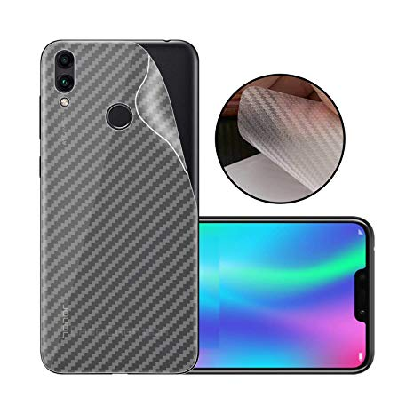 Honor 8X Carbon Fiber Anti Scratches Back Sheet - Transparent
