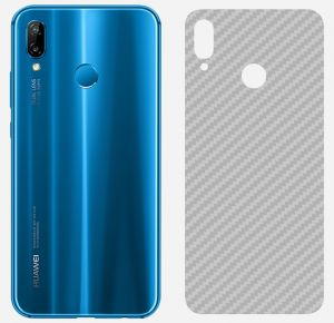 Huawei Nova 3i Carbon Fiber Anti Scratches Back Sheet - Transparent