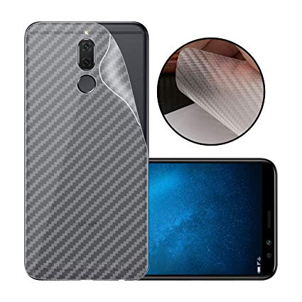 Huawei Mate 10 Lite Carbon Fiber Anti Scratches Back Sheet - Transparent