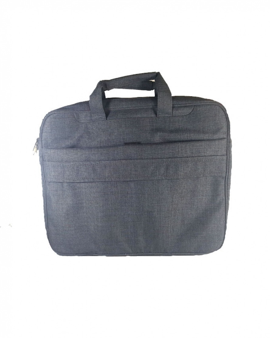 Frosted Fabric Office , Hand And Totes Casual 15.6 Inch Shoulder Bag - Grey