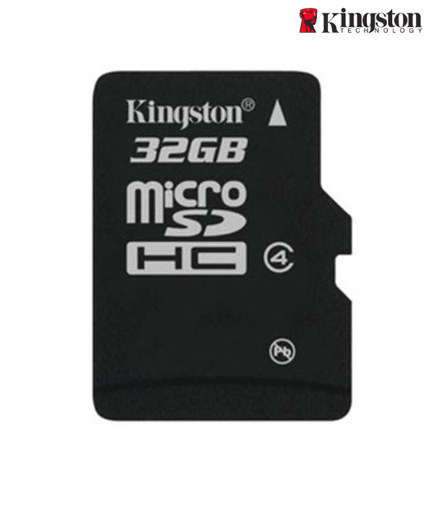 Kingston 32 GB Micro SD Memory Card Class 4 with Adapter