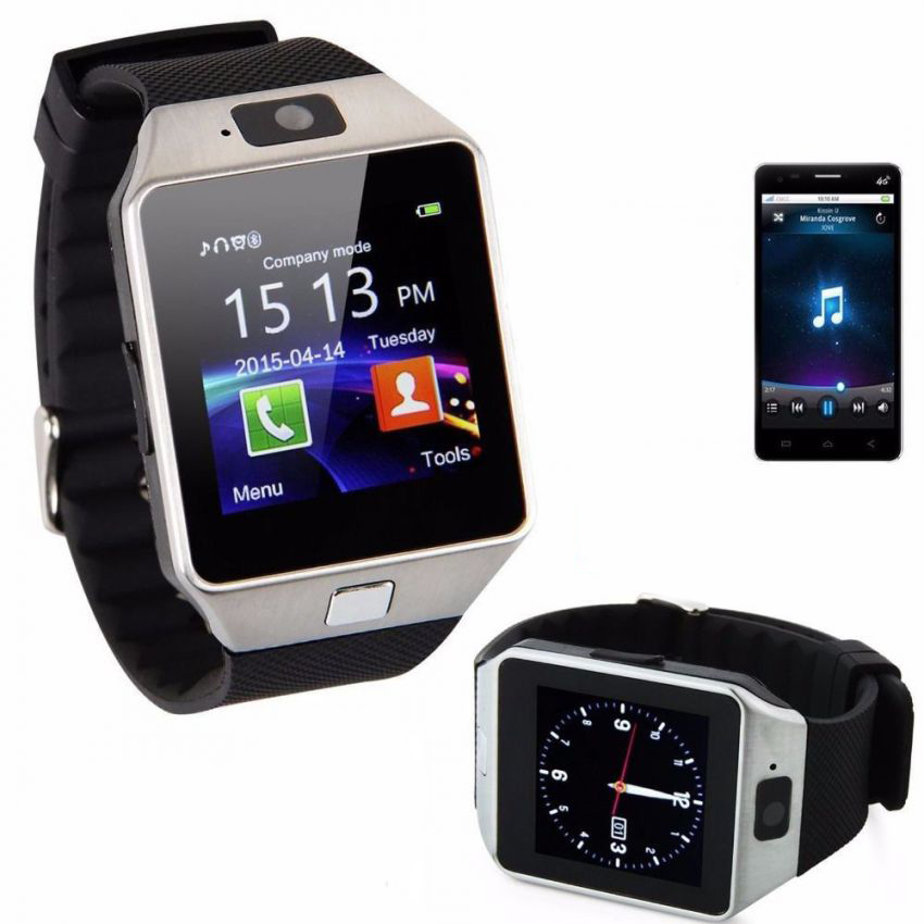 Smart Watch With GSM Slot Bluetooth Supported For iOS Android Smart Phones