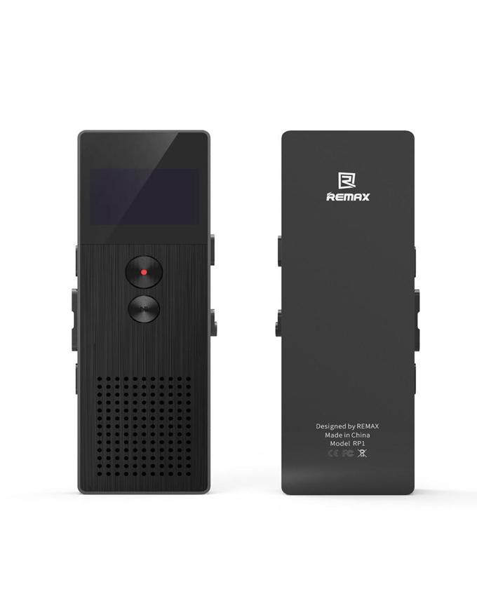 REMAX RP1 8 GB Professional Audio Recorder Portable Digital Voice Recorder - Black