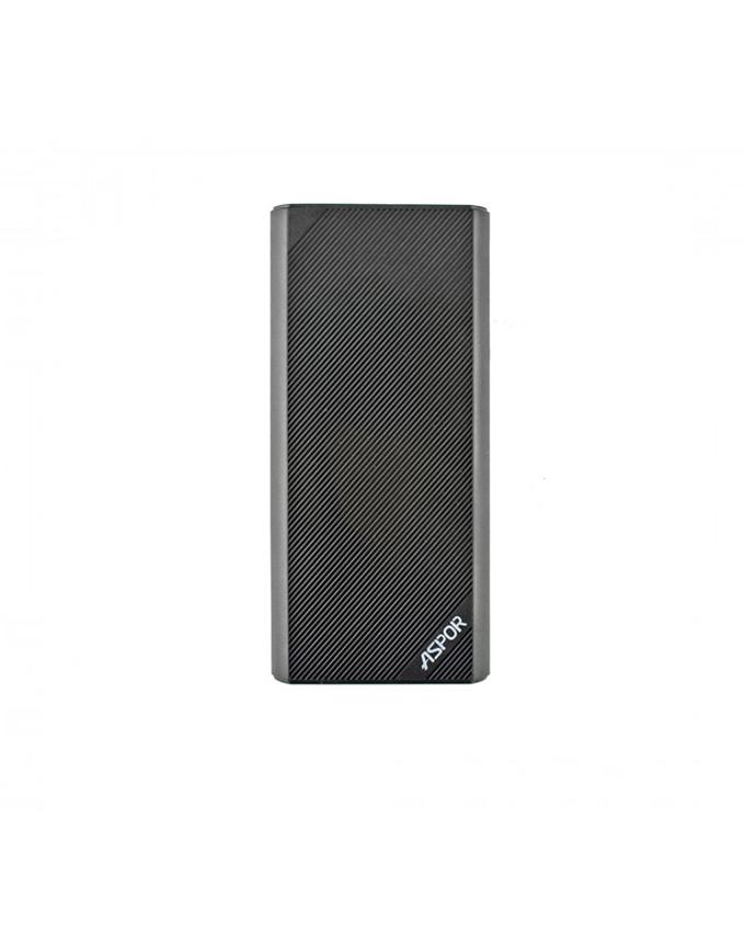 Aspor 10000mAh Power Bank A345 - Black