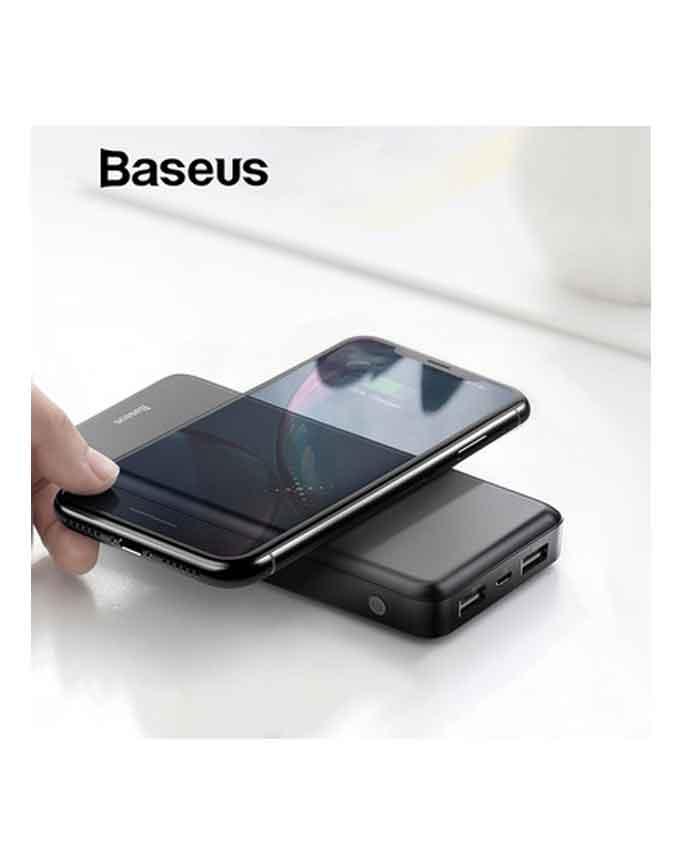 Baseus M36 Wireless Powerbank 10000mAh - Black