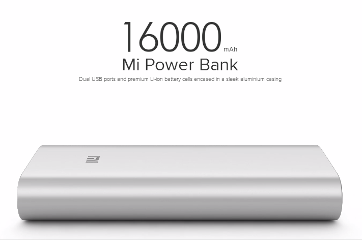 Mi Power Bank 16000mAh