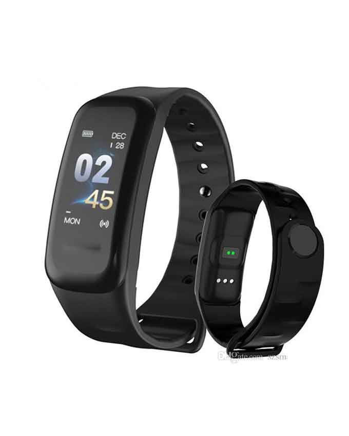 C1 Plus Wearfit Smart Band Passometer Activity Tracker Smart Bracelet Blood Pressure Heart Rate Monitor Band For Android And iOS