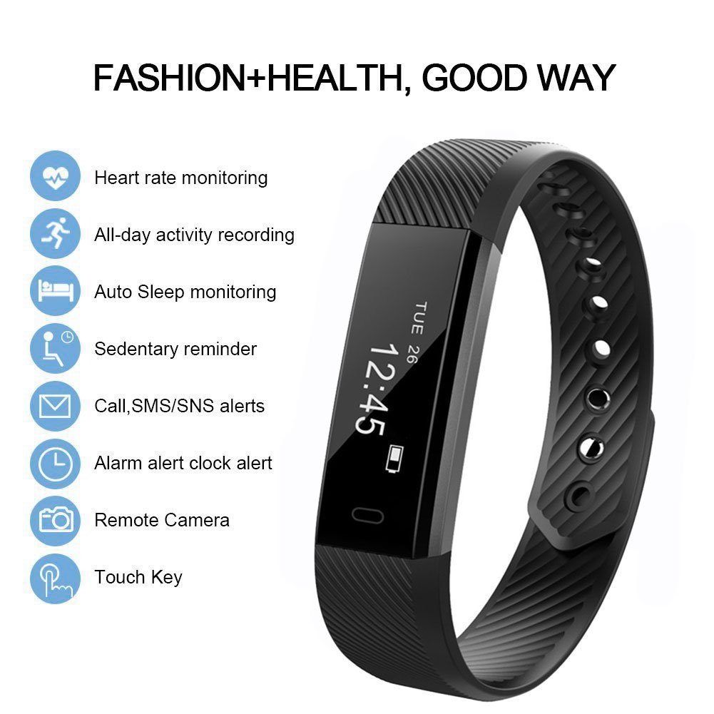 Smart Watch with Heart Rate Monitoring -115HR