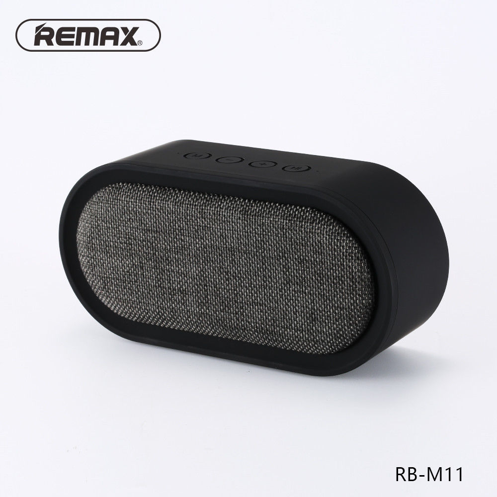 REMAX M11 Portable Fabric Bluetooth 4.2 Speaker with Mic Support TF Card/AUX-in