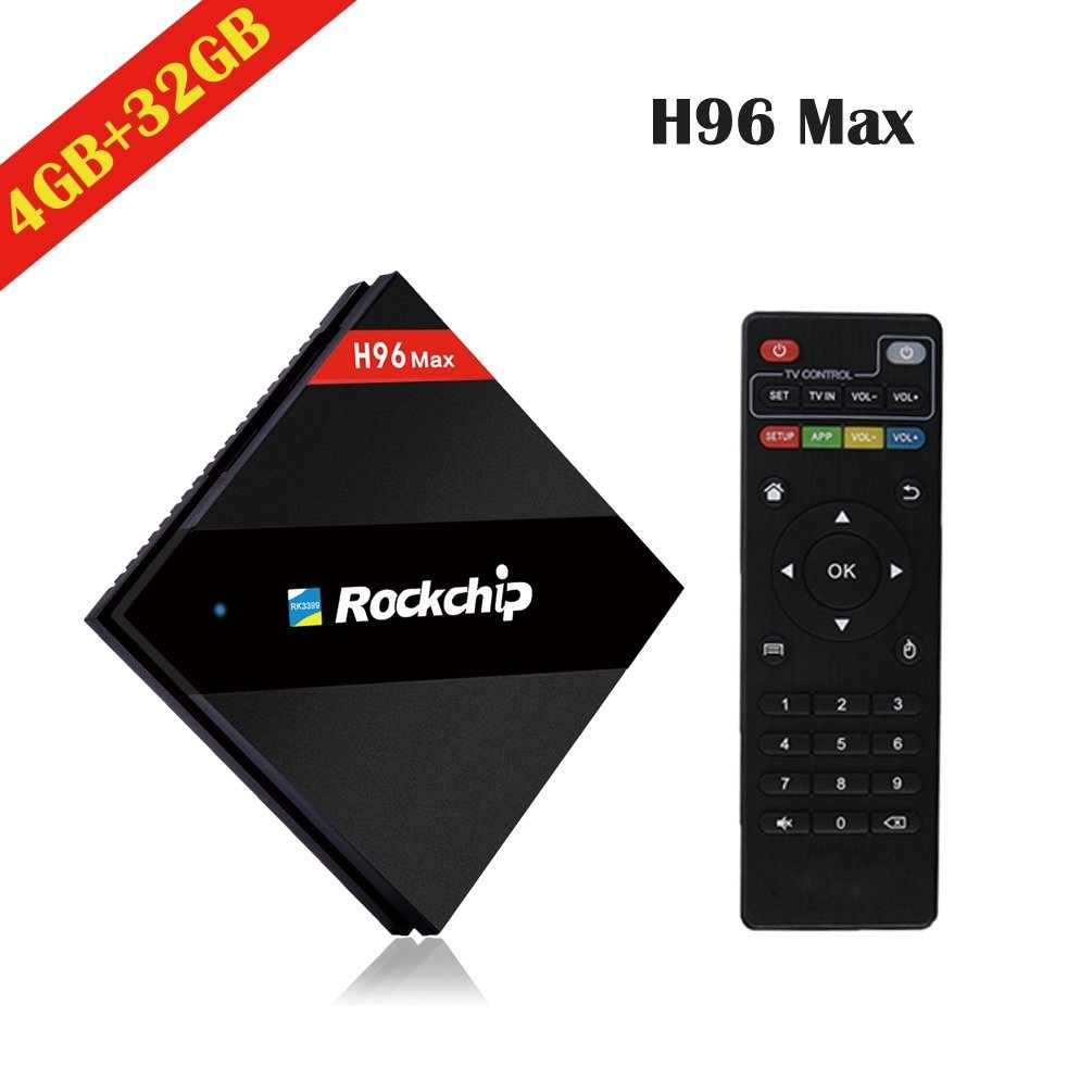 ANDRIOD TV BOX H96 MAX 4GB+32GB 4K Octa Core